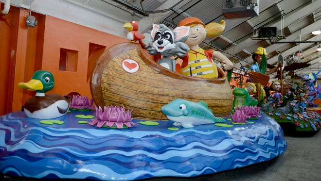 """DTE Energy Foundation's new float titled, """"Caring for our Environment,"""" was unveiled Oct. 19, 2016 during The Parade Company's annual Parade Preview Party presented by Art Van."""