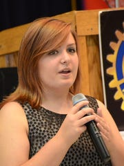 Tioga High student Madison Pearson, 16, said she was impressed with the Rotary members who served as counselors at the camp.