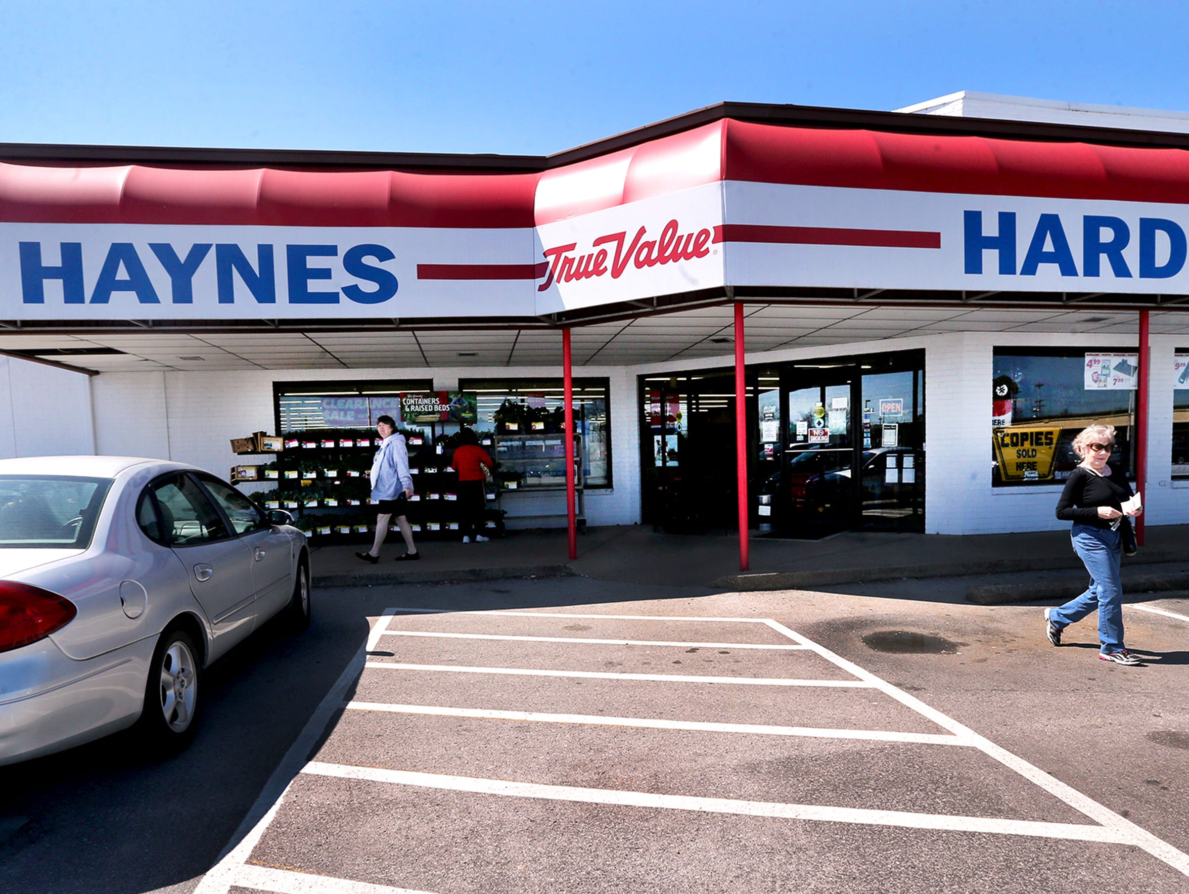 Haynes Hardware, which originally was located on the