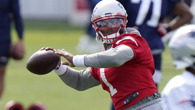 The Patriots will have a new look on offense this year with the addition of Cam Newton, who will replace the legendary Tom Brady under center.