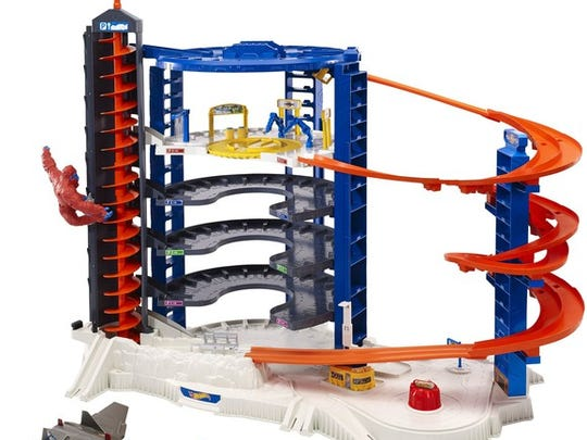Hot Wheels Super Ultimate Garage playset.