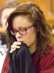 Roksana Sikorski at an early court appearance.