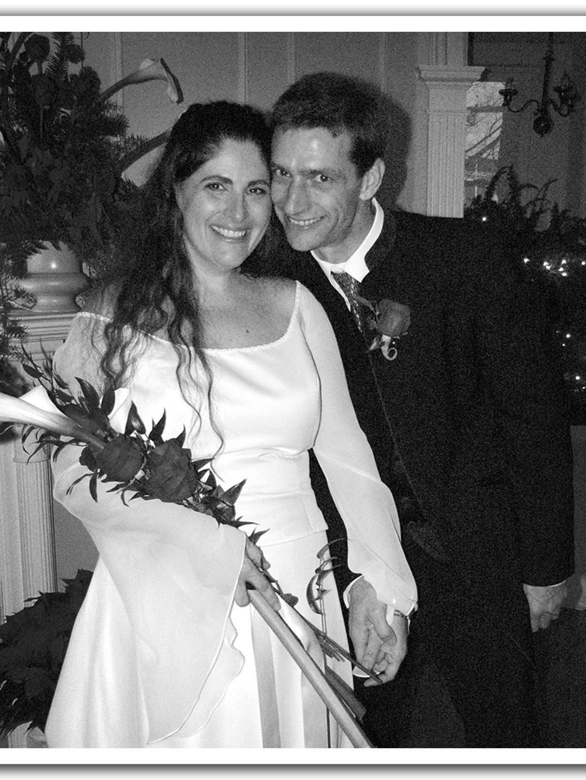 Joe Neyer and Laurie Traveline marry at the Oxford