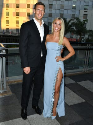 Julianne Hough and Brooks Laich, seen here in Los Angeles in September, are married.