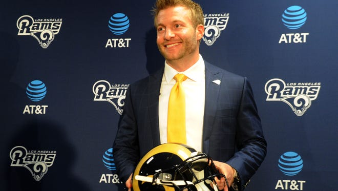 Sean McVay is the Rams' 23rd full-time head coach.