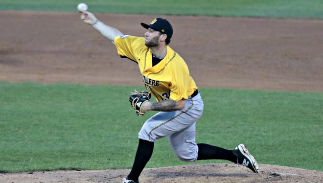 Nate Roe of Plainfield is now pitching for the New Britain Bees