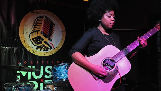A.J. Haynes performs at the Louisiana Music Prize kickoff party Sunday night at Bears on Fairfield.