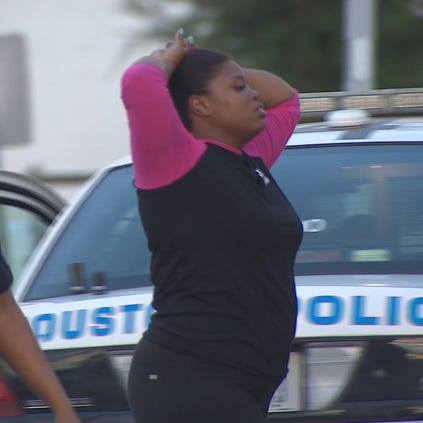 Latonya Jackson, 34, was driving with an invalid license, since October 2013, according to the Texas Department of Public Safety. She also had no liability insurance since September 2013.