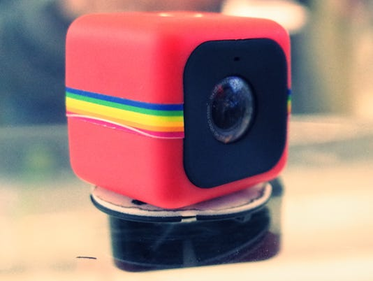 The Polaroid Cube isn't high-tech, but it is adorable