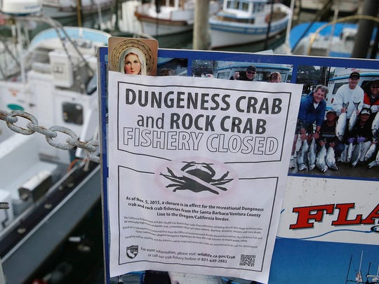 A sign is posted on the closure of Dungeness and rock