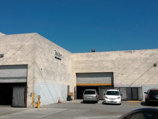 COURTESY PHOTO Tres Bein Clothing's cloth-cutting room and warehouse, pictured here, is located in Los Angeles, where it also contracts with five factories to make its trendy clothes for young women. Tres Bein's owner and other Korean American garment makers are studying the possibility of locating some Los Angeles factories in El Paso to lower labor costs and get a more stable workforce.