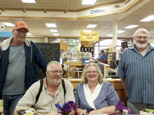 John Labe of Jonestown, Karl Lave of Hellertown, Kathy Foor of  Pittsburgh area and Robert Labe of Lebanon.