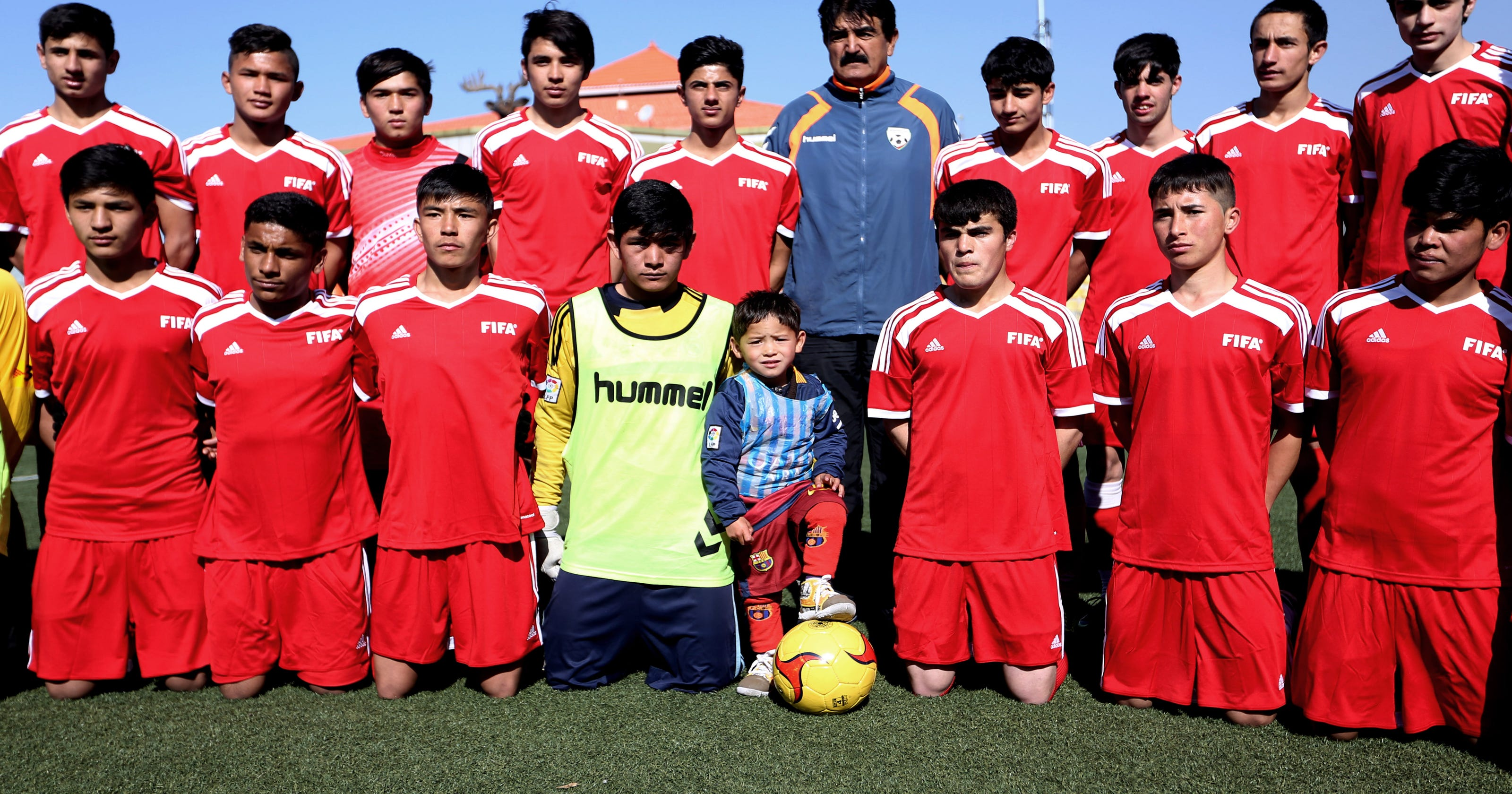 df727fcac 5-year-old Afghan boy could get to meet Lionel Messi