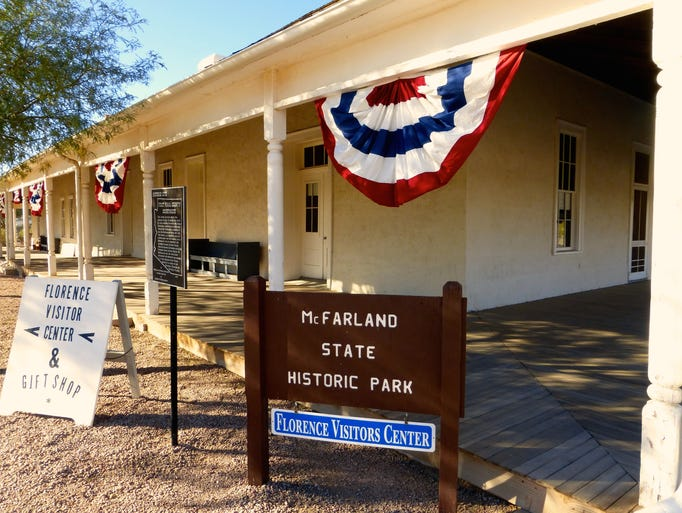 McFarland State Historic Park also serves as the Florence