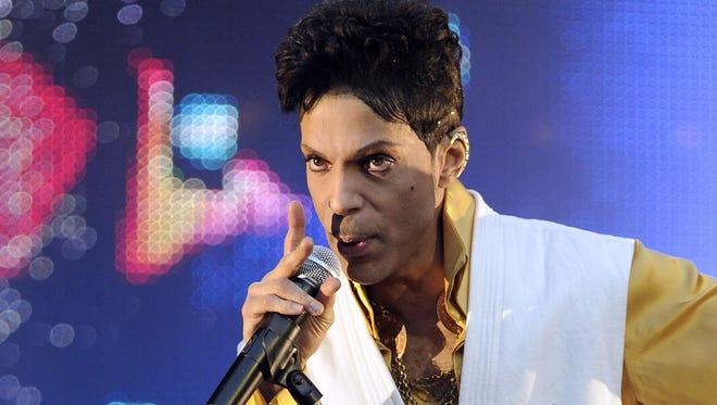 Prince in June 2011.