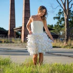 Would you wear a dress made out of beer?