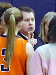 Dickson County coach Greg Tipps.