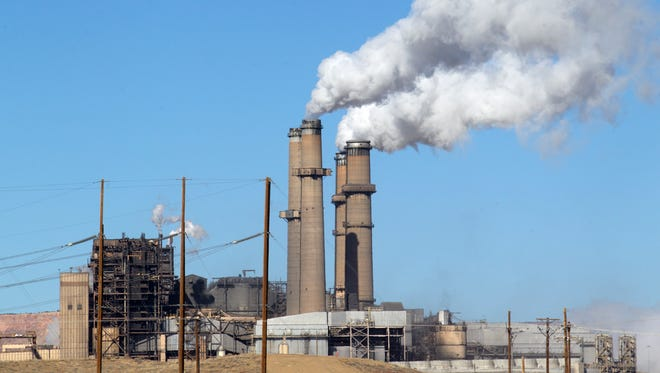 Two of the four coal-fired units at the San Juan Generating Station in Waterflow were shut down earlier this week.