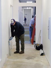 Work is underway on renovations of the fifth floor of the Norm Dicks Government Center in Bremerton. The floor will house the city of Bremerton's engineering staff.