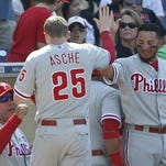 Phillies complete sweep of Padres on Sunday
