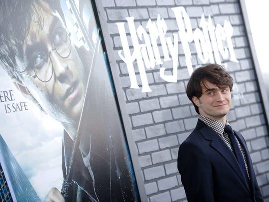 Actor Daniel Radcliffe attends the premiere of 'Harry Potter and the Deathly Hallows Part 1' at Alice Tully Hall on Monday, Nov. 15, 2010 in New York.