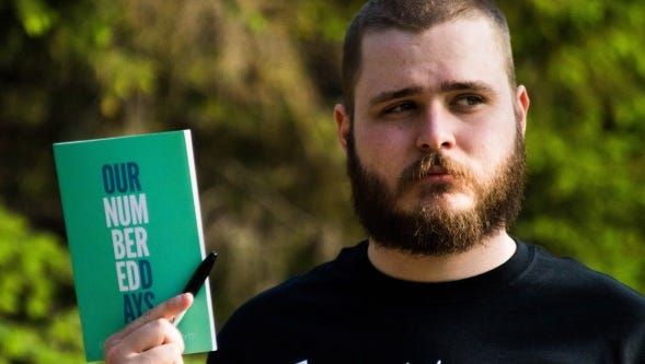 Neil Hilborn, the 2011 College National Poetry Slam Champion, will perform at Pensacola State College.
