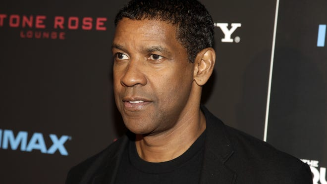 "Denzel Washington attends a screening of ""The Equalizer"" on Monday, Sept. 22, 2014 in New York. (Photo by Andy Kropa/Invision/AP) ORG XMIT: NYAK104"