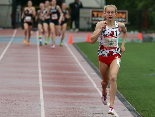 Katelyn Tuohy of North Rockland High School won the