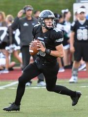 South Lyon East junior quarterback Chris Kaminski was named to the All-Lakes Valley Football Team.