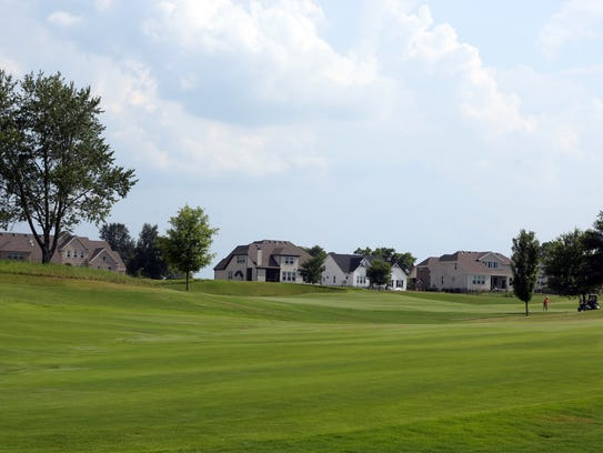 Gallatin's Foxland Harbor golf community.