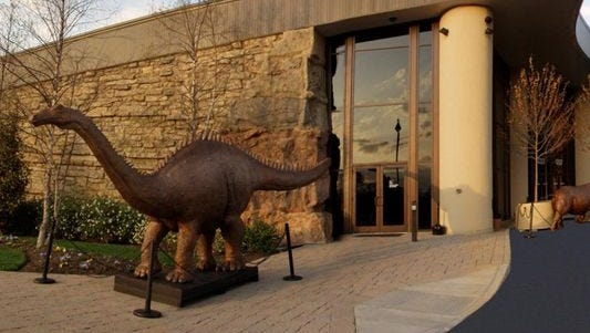 The Creation Museum is located in Petersburg in western Boone County.