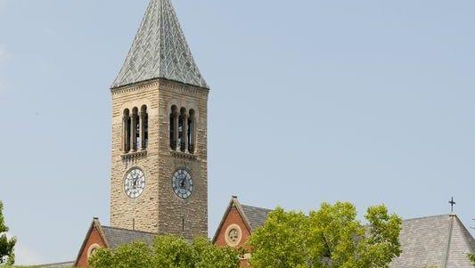 Cornell University's Ithaca campus