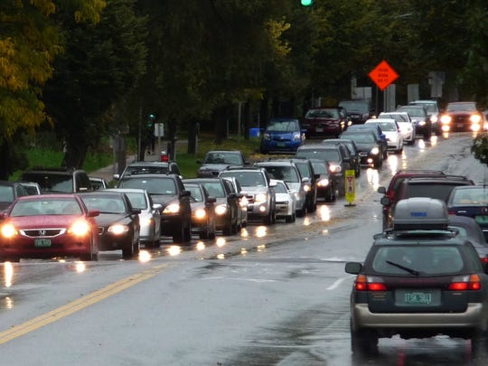 Rush-hour traffic congestion is an increasing problem in Chittenden County