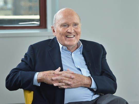 File photo taken in 2015 shows former GE CEO Jack Welch.