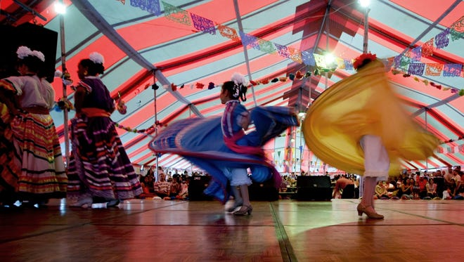 Fantasia Ballet Folklorico is one of many groups who will perform at the Cristo Rey Fiesta Memorial Day weekend.