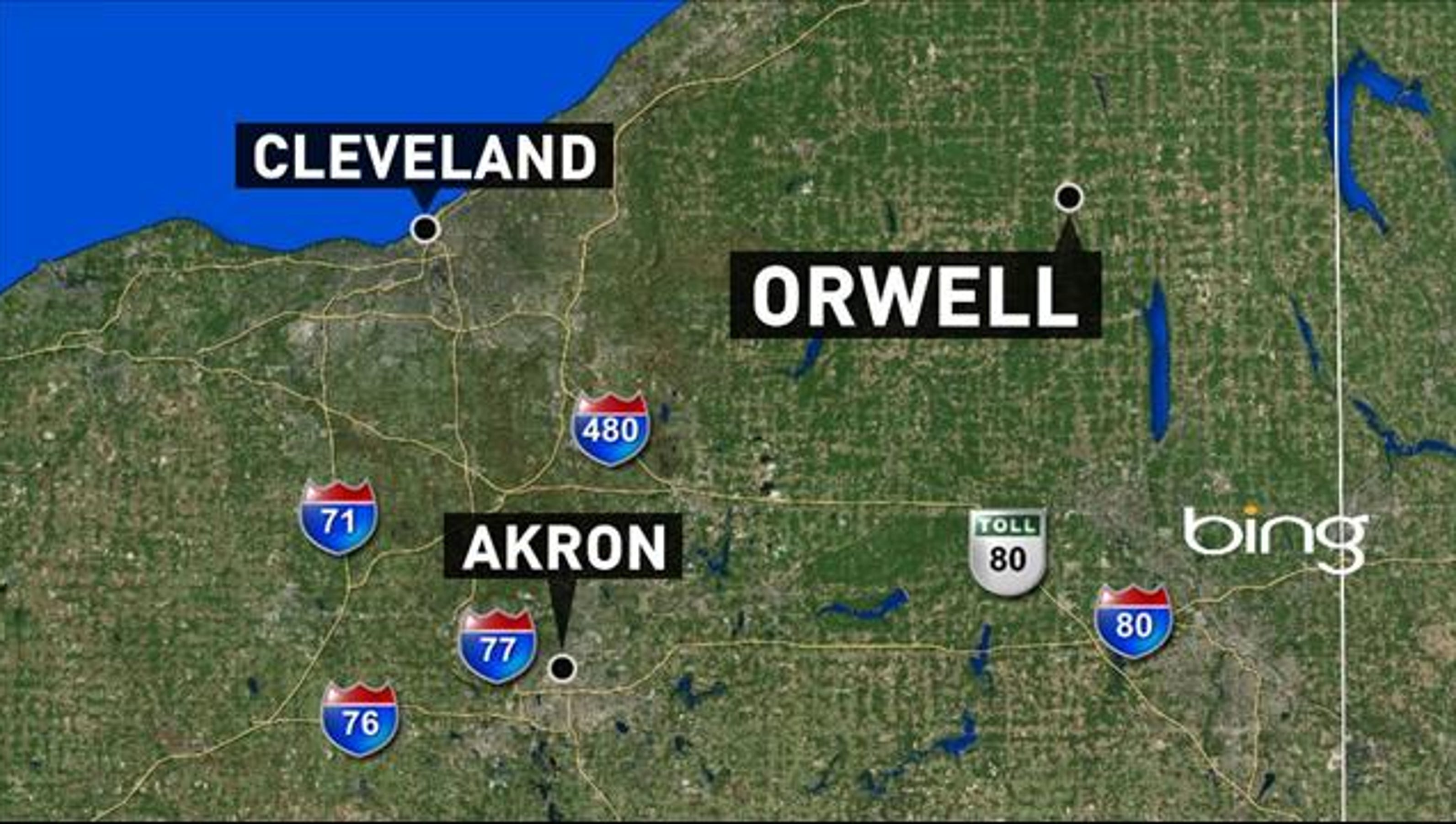 One dead in Orwell house explosion