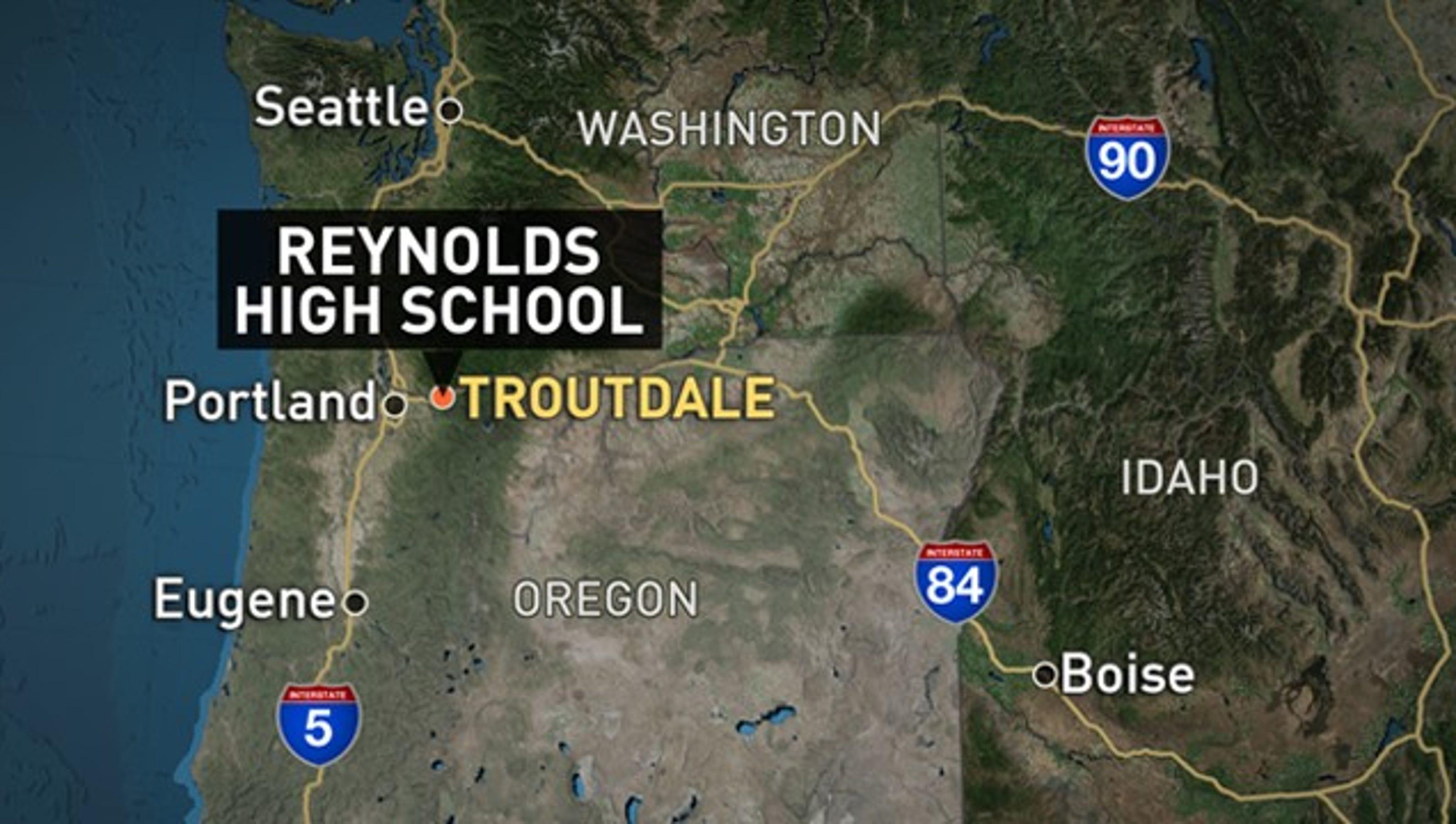 2 dead in Oregon HS shooting