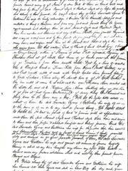 Copy of the deed. The original is in Goshen, N.Y.