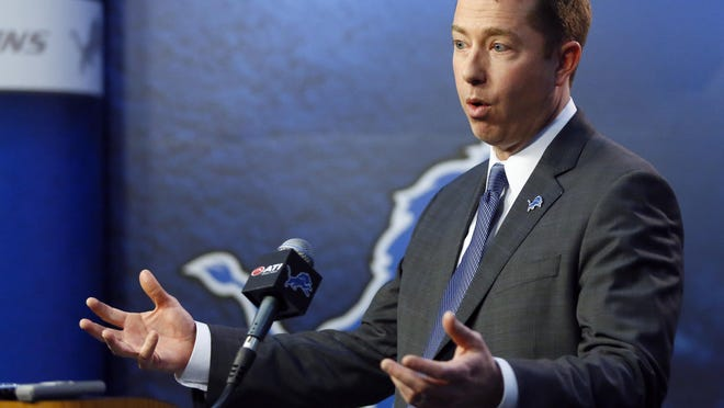 "Lions general manager Bob Quinn says nothing is left to chance on draft day. ""The board's set, you follow the board,"" he said about advanced decisions."