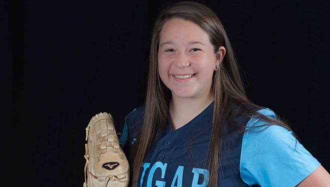 Enka senior Danielle Harris has committed to play college softball for Spartanburg Methodist (S.C.).