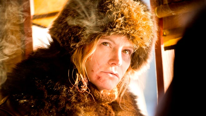 Jennifer Jason Leigh plays the very hateful Daisy Domergue in 'The Hateful Eight.'