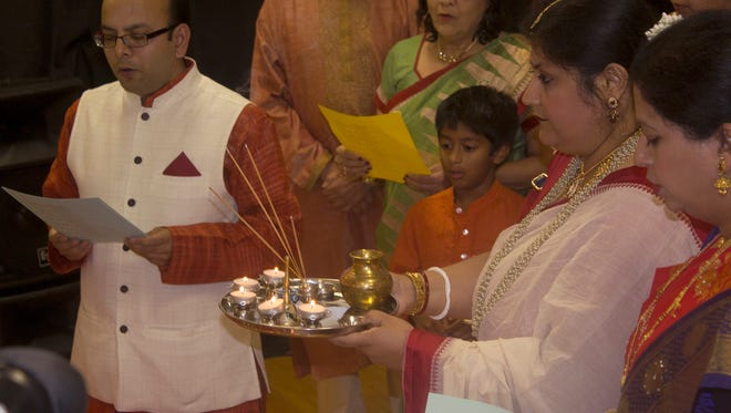 The Jackson Association of Indians hosted the Festival of Lights, Diwali, on Saturday night at the STAR Center.
