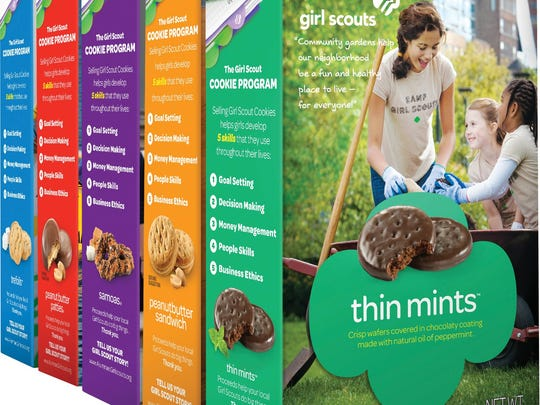 Girl Scout is the third most popular cookie brand among Americans.