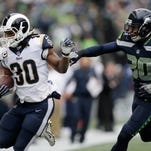 Rams Rules: LA rout Seattle 42-7 for control of division