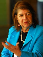 Wilma Mankiller, who was the first female chief of
