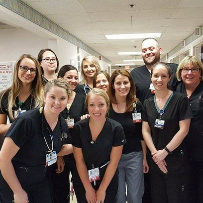 Nurses at Hurley Hospital in Flint has been without