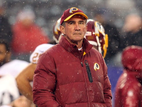Redskins coach Mike Shanahan couldn't replicate his Super Bowl success from Denver in Washington.
