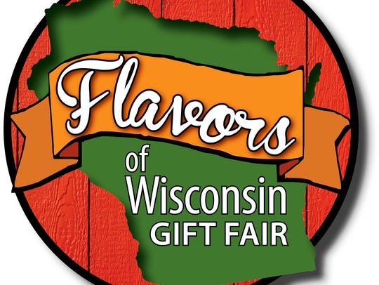 Flavors of Wisconsin Gift Fair logo.