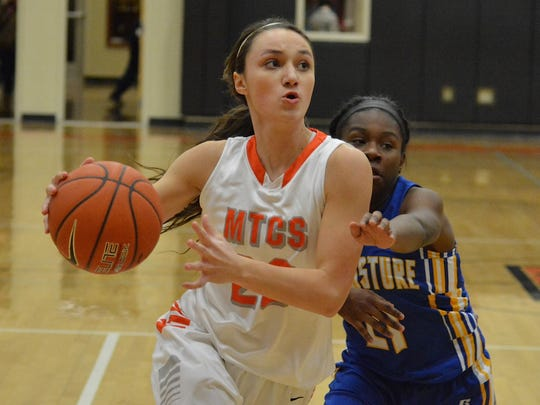 MTCS's Ashlynd Wilkerson was named to The Daily News