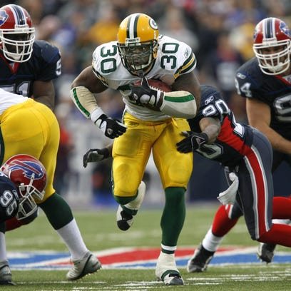 Green Bay Packers great Ahman Green is Monday's guest